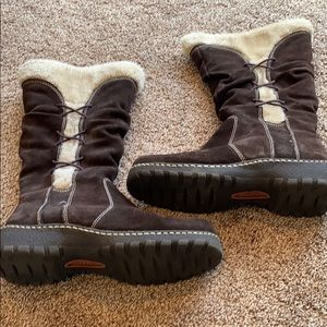 Bass Brown Boots Size 9 - used